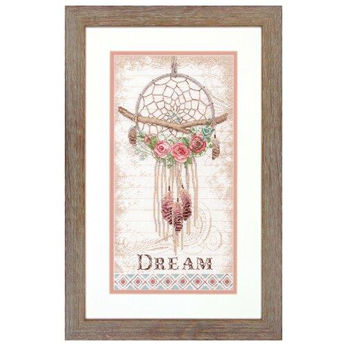 Купить Dimensions Набор для вышивания Floral Dream Catcher (Цветочный ловец снов) 20 х 38 см (70-35375), Наборы для вышивания