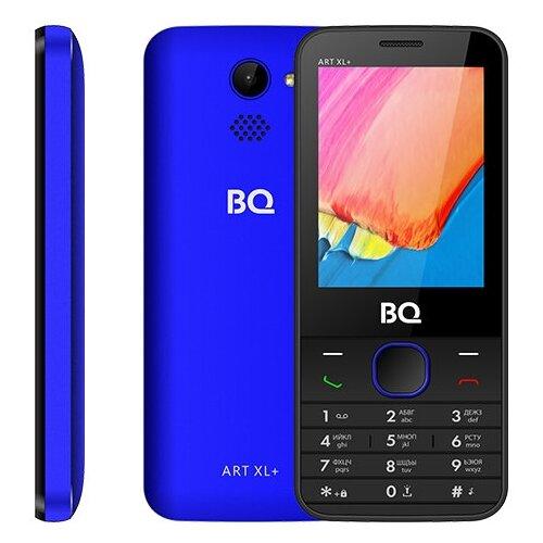 Телефон BQ 2818 ART XL+ черный / синий телефон