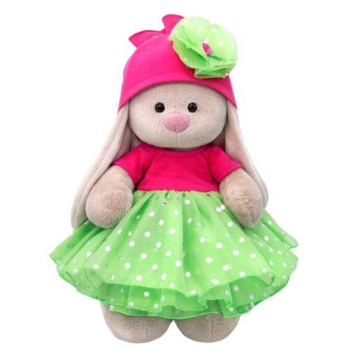 Мягкая игрушка Зайка Ми в платье с пышной юбкой из органзы 25 см