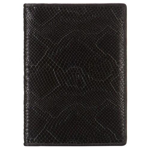 Обложка для паспорта Dr.Koffer X510130-218-04, черный