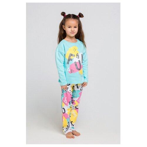 Пижама crockid размер 98, аквамарин пижама crockid размер 104 аквамарин