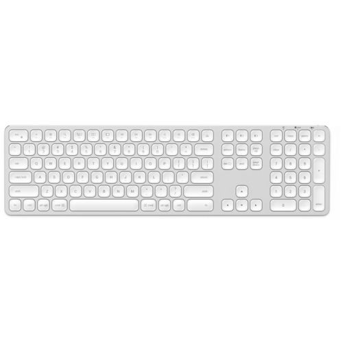 Клавиатура Satechi Aluminum Wireless Keyboard with Numeric Keypad Silver Bluetooth