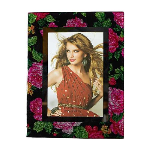 Фоторамка Yiwu Youda Import and Export Розовые розы 10x15 см разноцветный