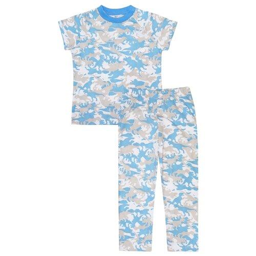 Пижама KotMarKot размер 98, голубой