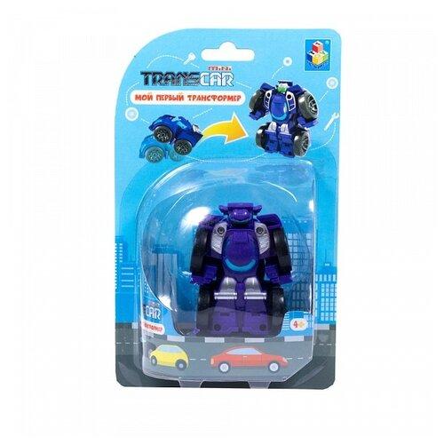 Трансформер 1 TOY Мой первый трансформер Суперкар Т16519 / Т16512 суперкар фиолетовый
