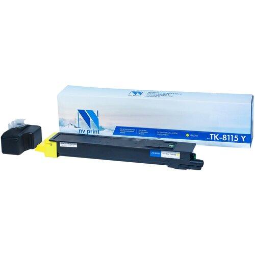 Фото - Картридж NV Print TK-8115 Yellow для Kyocera, совместимый картридж nv print tk 895 yellow для kyocera совместимый