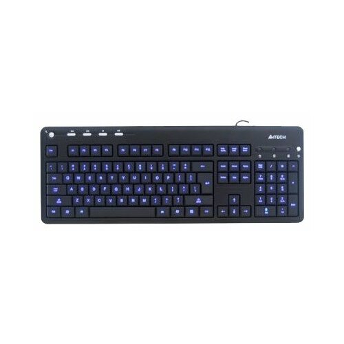 Клавиатура A4Tech KD-126-1 Black USB клавиатура a4tech kd 800 l usb b