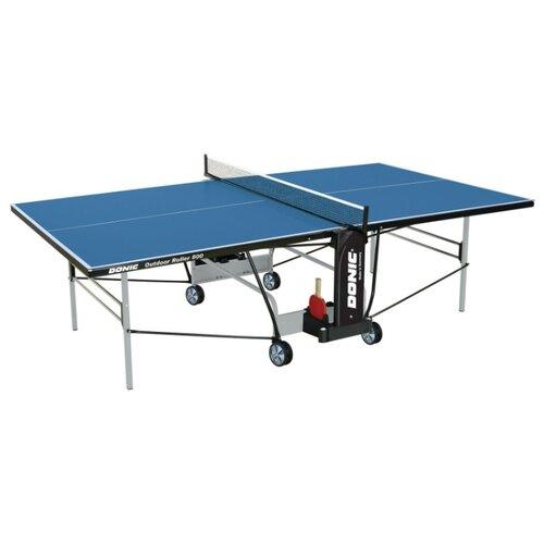 Стол для улицы всепогодный Donic Outdoor Roller 800 синий 274х152х76