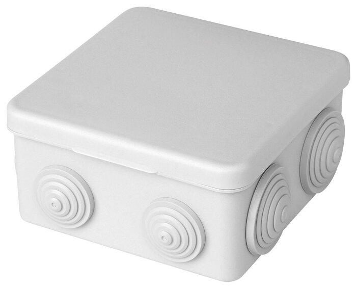 Распределительная коробка STEKKER EBX10-27-44 наружный монтаж 110x110 мм