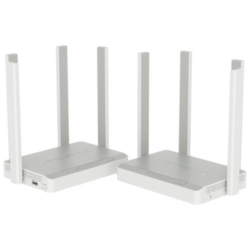 Wi-Fi Mesh система Keenetic Keenetic Viva+Speedster Kit (KN-KIT-002), белый