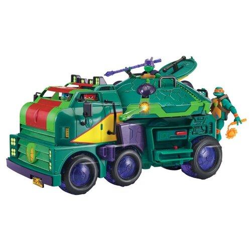 TMNT Машинка Черепашки Ниндзя Rotmnt с фигуркой Майки 82521 недорого