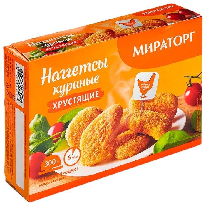 Мираторг Наггетсы куриные хрустящие 300 г