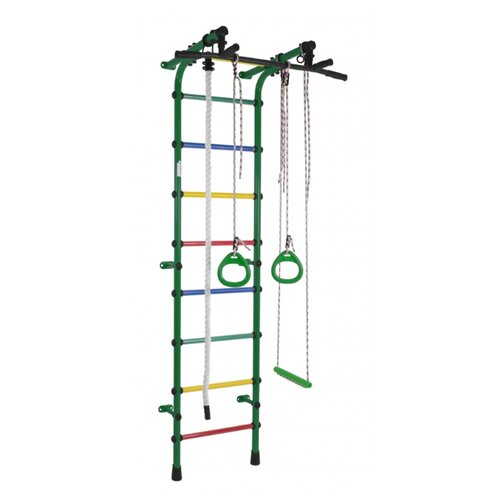 Спортивно-игровой комплекс Формула здоровья Непоседа зеленый/радуга