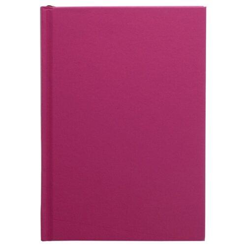 Ежедневник Index Basic недатированный, А5, 168 листов, пурпурно-красный