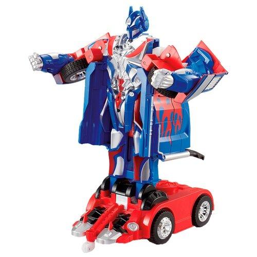 Купить Робот-трансформер Jia Qi Troopers Strong Оптимус Прайм синий/красный, Роботы и трансформеры
