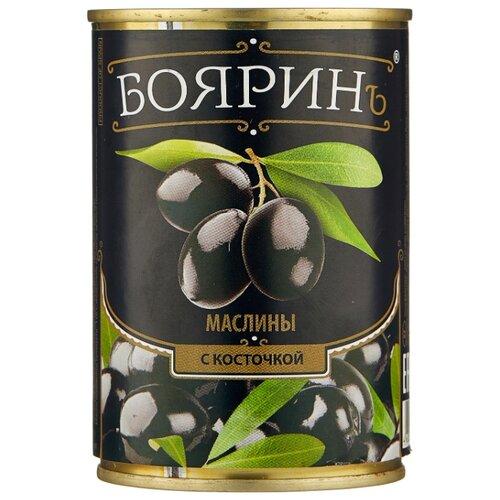 Бояринъ Маслины с косточкой, жестяная банка 314 мл бояринъ маслины с косточкой жестяная банка 314 мл