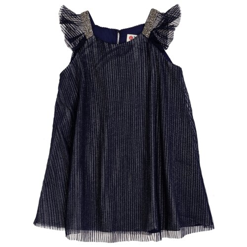 Платье Button Blue размер 110, синий