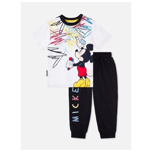 Комплект одежды playToday размер 74, темно-синий/белый комплект одежды playtoday размер 74 темно синий серый