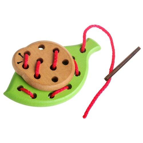Купить Шнуровка Томик Лето (612-2) коричневый/зеленый, Шнуровки