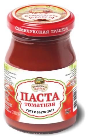 Семилукская трапеза Томатная паста ГОСТ