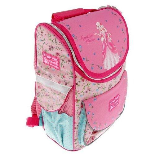 Фото - Hatber ранец Balance Милая принцессаNRk_13030, розовый hatber ранец школьный hatber balance полиэстер 1 отд 3 кармана светоотраж друзья мультяшки