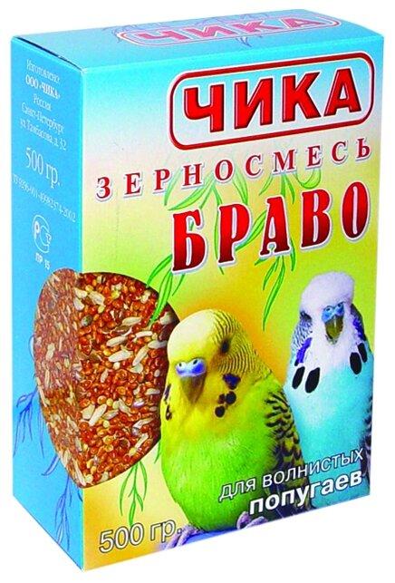 Чика корм Браво для волнистых попугаев