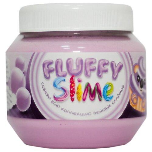 Лизун Monster's Slime Fluffy slime бабл-гам фиолетовый