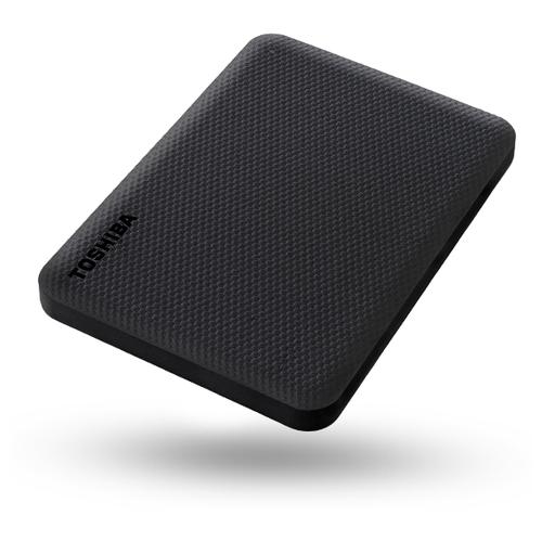 Внешний HDD Toshiba Canvio Advance 4 ТБ черная клетка
