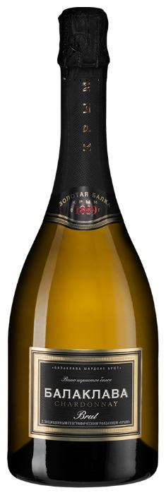 Игристое вино Золотая Балка Балаклава Chardonnay Brut, 0.75 л