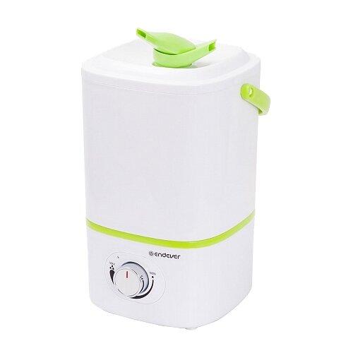 Увлажнитель воздуха ENDEVER Oasis-173, белый/зеленый