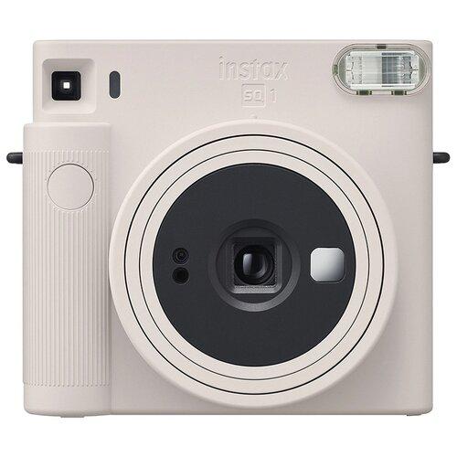 Фотоаппарат моментальной печати Fujifilm Instax Square SQ1, белый мел фотоаппарат fujifilm instax square sq6 ruby red