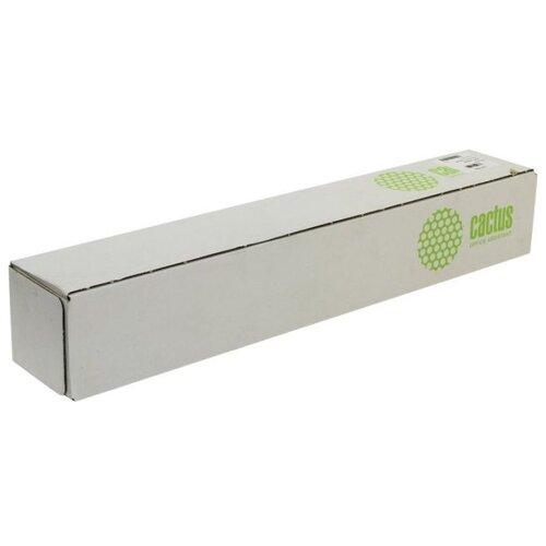 Фото - Бумага cactus 610мм CS-LFP80-610457E 45.7м., белый бумага для плоттера cactus cs pc90 61045 24 610мм x 45м 90г м2 с покрытием