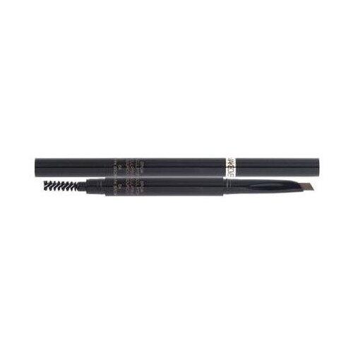 Фото - MAKEOVER карандаш для бровей Automatic Brow Pencil Duo Refill, оттенок dark brown landa branda карандаш automatic eye brow pencil оттенок blond