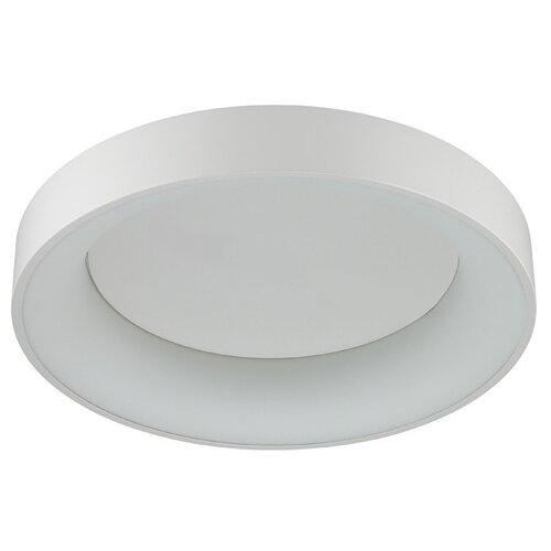 люстра потолочная светодиодная odeon light saturno 114 вт хром Люстра потолочная светодиодная Odeon Light Sole, 40 Вт, 220 В, с ДУ (белый/серый)