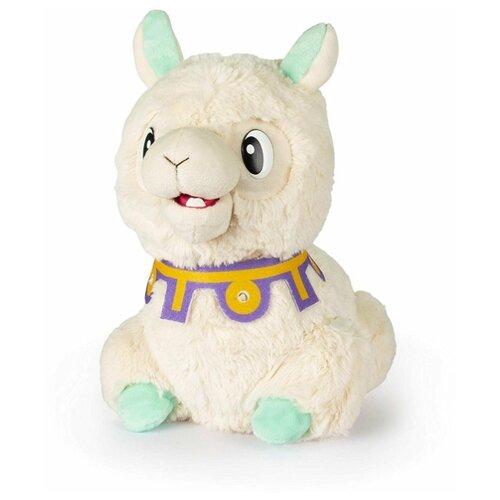 Купить Мягкая игрушка Club Petz Лама Spitzy молочный, Роботы и трансформеры