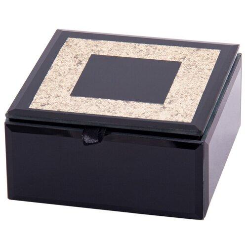 Русские подарки Шкатулка для ювелирных украшений 79217 черный русские подарки шкатулка для ювелирных украшений 79212 белый