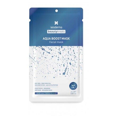 SesDerma Beauty Treats Маска увлажняющая Aqua Boost Mask, 25 мл увлажняющая маскарн 6 0–6 5aqua mask 200 мл