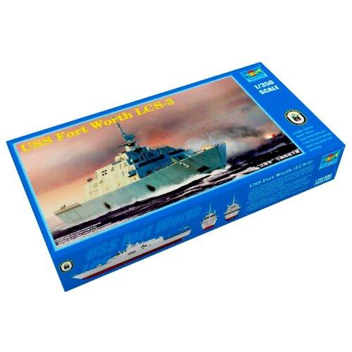 Сборная модель Trumpeter USS Fort Worth LCS-3 (04553) 1:350 realts trumpeter 01034 1 35 russian kamaz 4310 truck