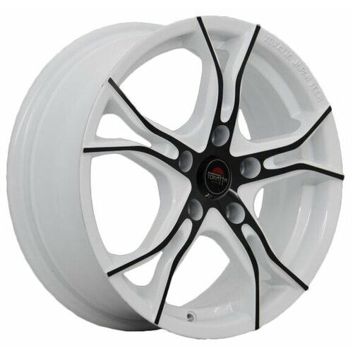 Фото - Колесный диск Yokatta Model-36 7x17/5x114.3 D64.1 ET50 W+B колесный диск yokatta model 27 7x17 5x114 3 d64 1 et50 w b