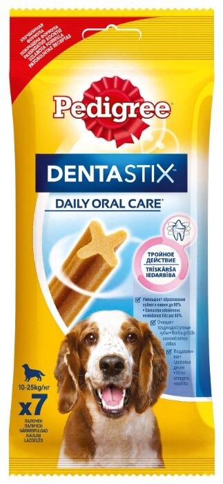 Лакомство для собак Pedigree Denta Stix для средних пород
