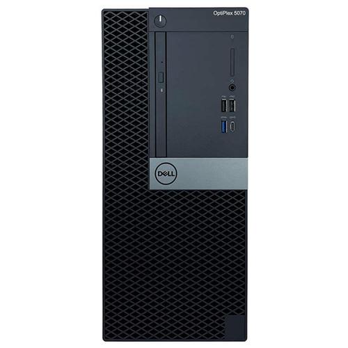 Настольный компьютер DELL OptiPlex 5070 MT (5070-1977) Mini-Tower/Intel Core i7-9700/8 ГБ/256 ГБ SSD/Intel UHD Graphics 630/Linux черный