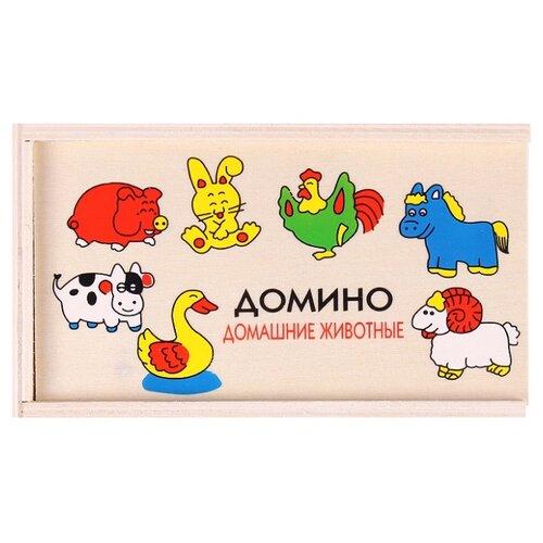 Купить Настольная игра Darvish Домино Домашние животные, Настольные игры