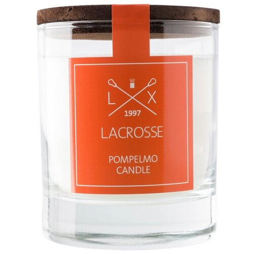 Свеча Ambientair Lacrosse Pompelmo Грейпфрут (VV040PNLC) белый