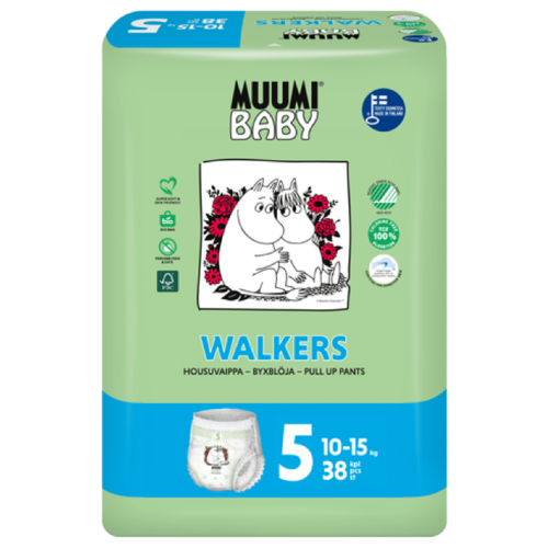 Купить Muumi трусики 5 (10-15 кг) 38 шт., Подгузники