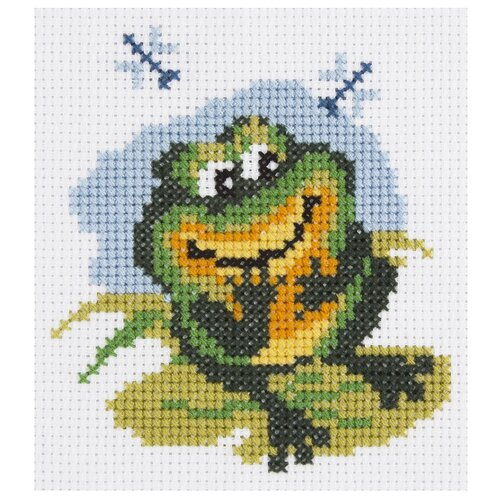 Купить Klart Набор для вышивания Лягушонок 8 x 9 см (6-075), Наборы для вышивания