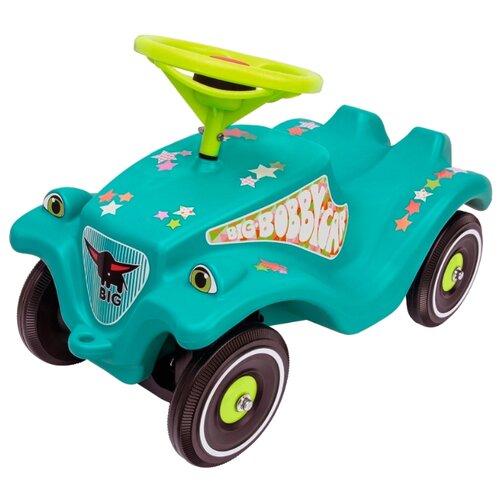Каталка-толокар BIG Bobby Car Classic Little Star (56108) зеленый big машинка big bobby car racer