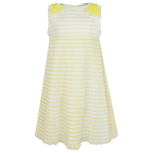 Платье Mayoral размер 104, желтый платье smena размер 104 56 синий желтый