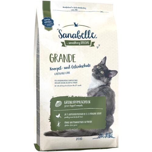 Фото - Сухой корм для кошек Sanabelle для кошек крупных пород 2 кг sanabelle sanabelle snack полувлажное лакомство для кошек для улучшения пищеварения с сайдой и инжиром 55 г