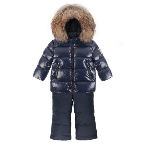 Купить Комплект с полукомбинезоном ArctiLine 751 MW-20 размер 98, темно-синий/темно-синий, Комплекты верхней одежды