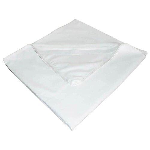 Наматрасник Qu Aqua на резинках по углам Махра, 60х120 см белый